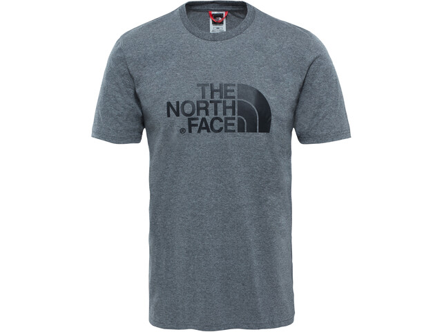 The North Face Easy S/S Tee Herr tnf me grey he
